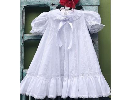 Vestido Bordado Inês curto