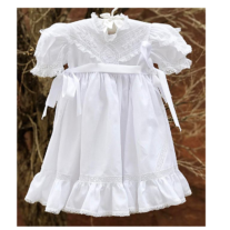 Vestido Branco Bordado Helen Curto