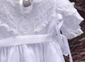 Vestido Branco Bordado Helen curto 2