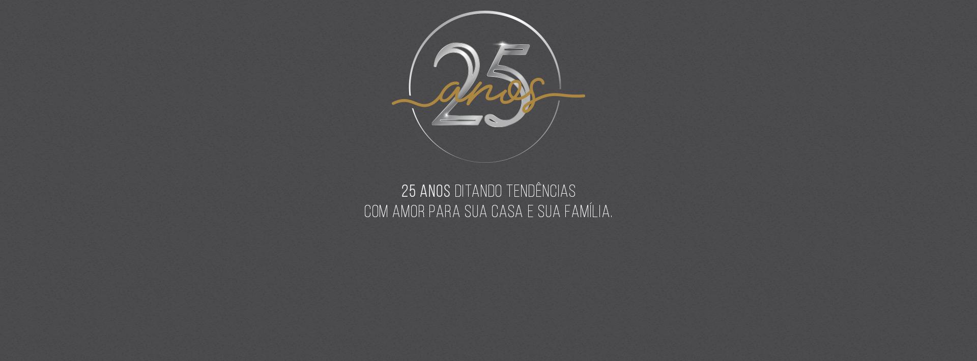 Banner 25 Anos Vilaro